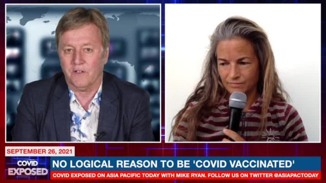 Dr. Jessica Rose   No Logical Reason to be Vaxxed -  Asia Pacific Today