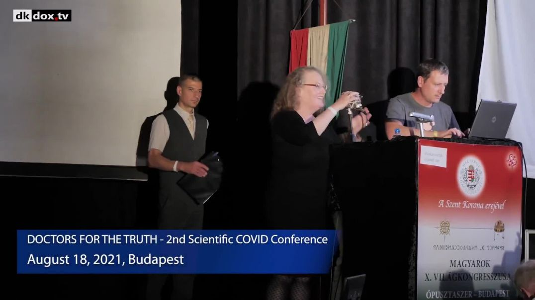 Prof Dolores Cahill in Budapest Aug 2021 - Conference