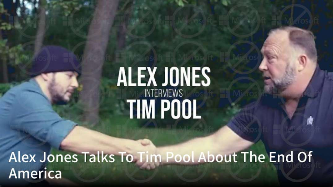 Alex Jones Talks To Tim Pool About The End Of America
