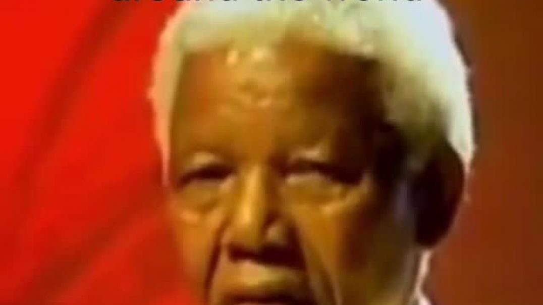 Nelson Mandela exposes the unnecessary bombing of innocent people carried out by the USA