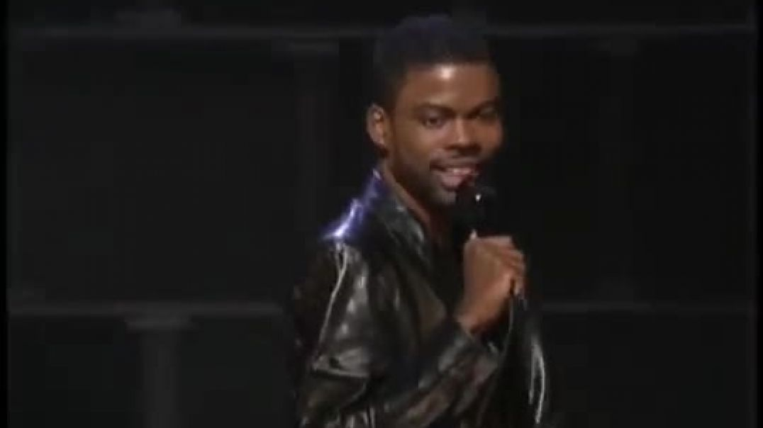 BEFORE Chris Rock became a whipped jab salesman, he said this.