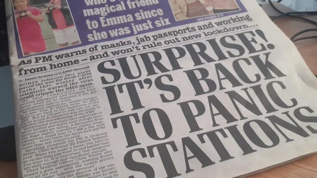 UK Under Attack By Fabricated Panic Stations