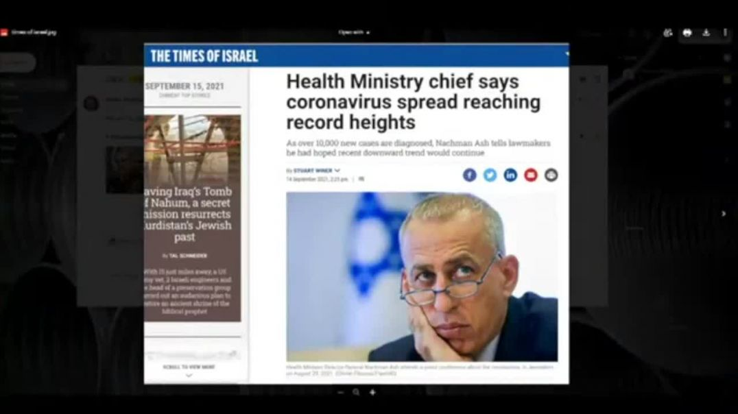 More evidence: Why Is Israel Experiencing Record Covid Cases -- With 3 Doses of The Vaccine?