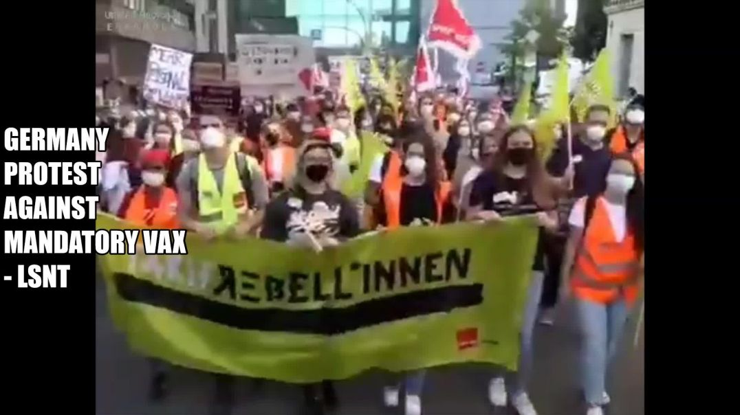 Germany Are Protesting Against Mandatory Vaccines