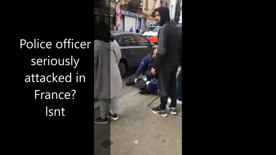 Police Officer Seriously Attacked In France - Reason UNKNOWN