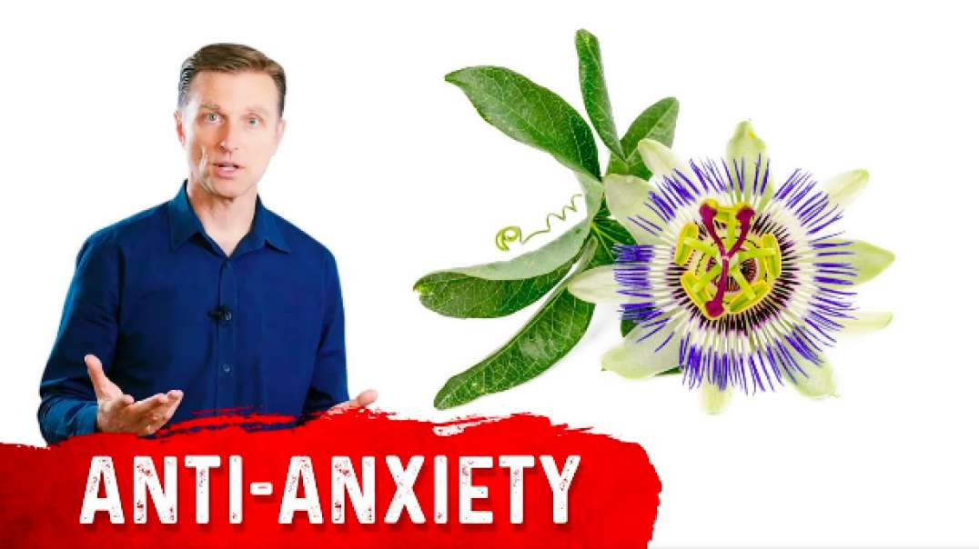 Dr. Eric Berg | Passion Flower as a Natural Sedative ~ September 22, 2021