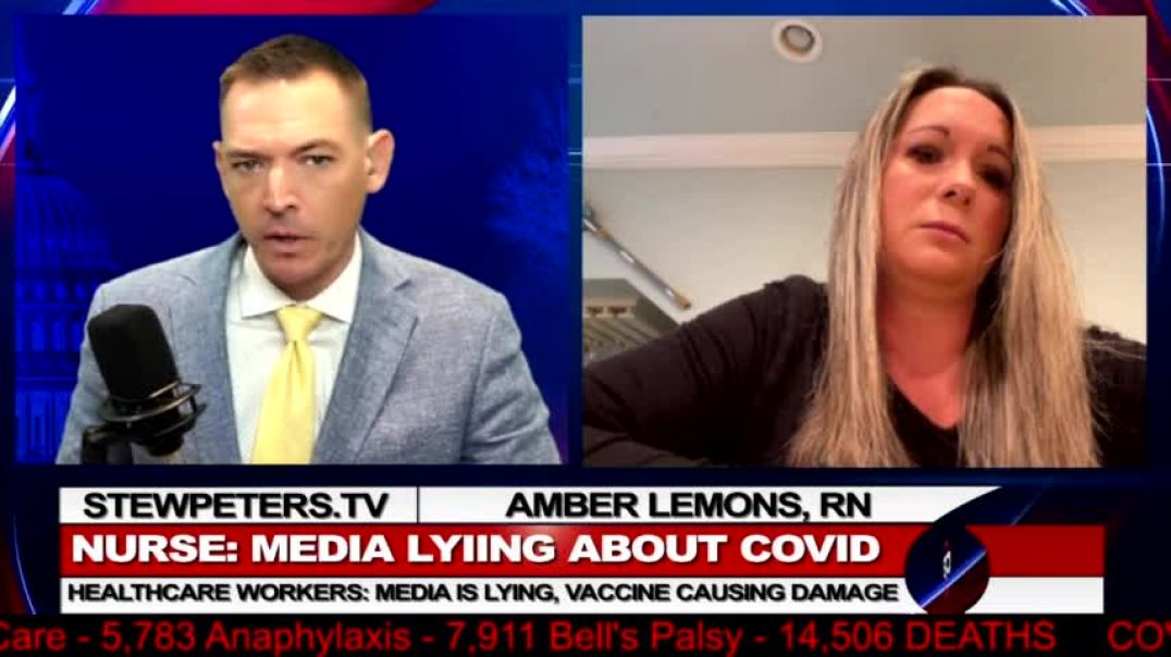 Whistleblower Nurse on Vaxx Injuries, Withheld Treatments and Vaxxed C-19 Patients