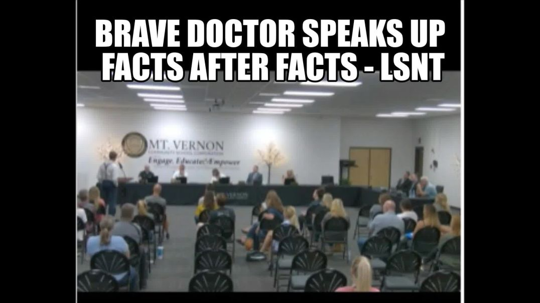 Brave Doctor Speaks Up INDIANA United States of America WE HAVE BEEN LIED TO