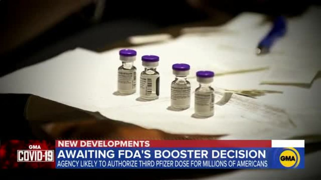 FDA expected to approve booster shot for Pfizer COVID vaccine