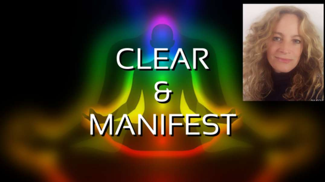 Guided meditation  MANIFEST WITH ENERGY CENTRES  | CLEAR WHAT HOLDS YOU BACK AND THEN MANIFEST !!!!