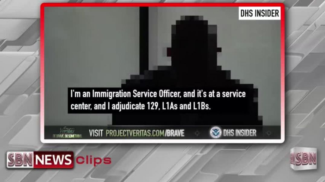 Project Veritas: Second DHS Whistleblower Claims It's Impossible to Deny Work Visa Renewals