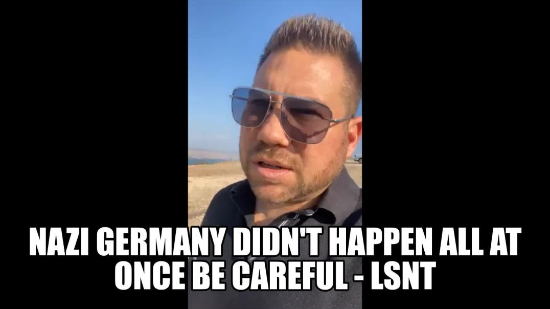 Nazi Germany Genocide Did Not Happen All At Once BE CAREFUL