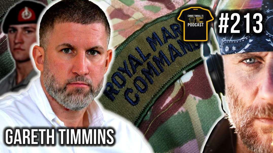 Becoming The 0.1% | Royal Marines | Gareth Timmins | Bought The T-Shirt Podcast