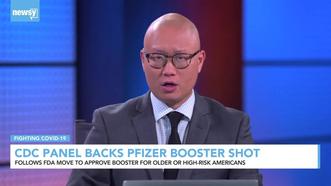 CDC Panel Backs Pfizer Booster Shot For Some Americans