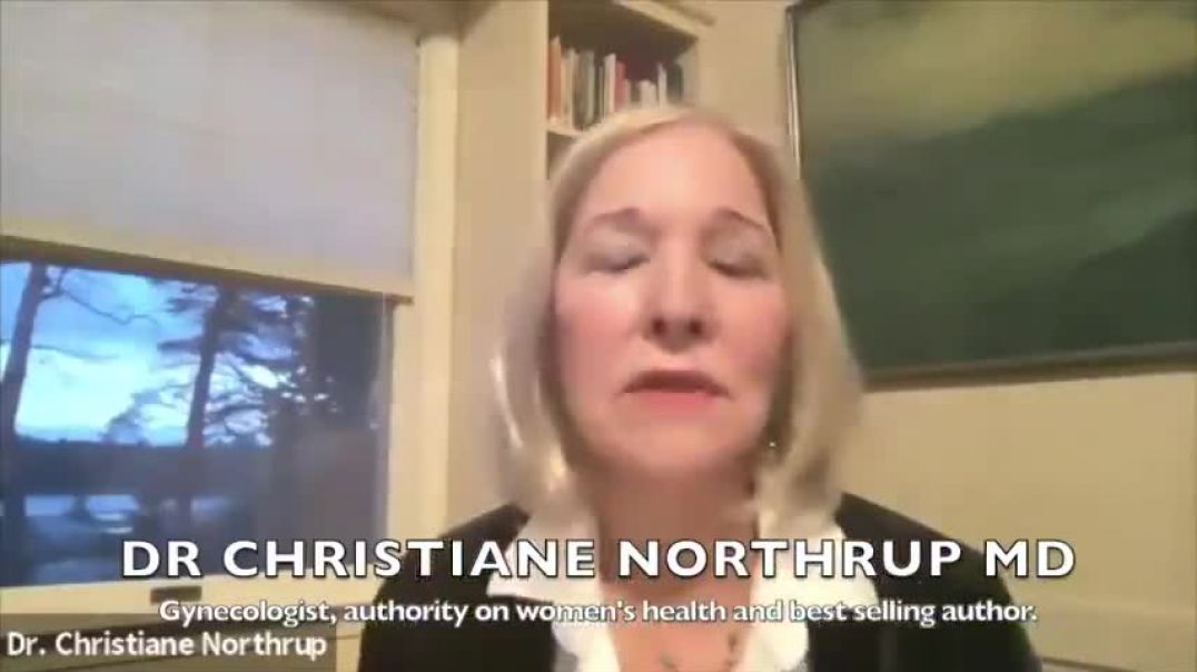 Dr Christian Northrup vaccine causing women to bleed, erectile problems in men