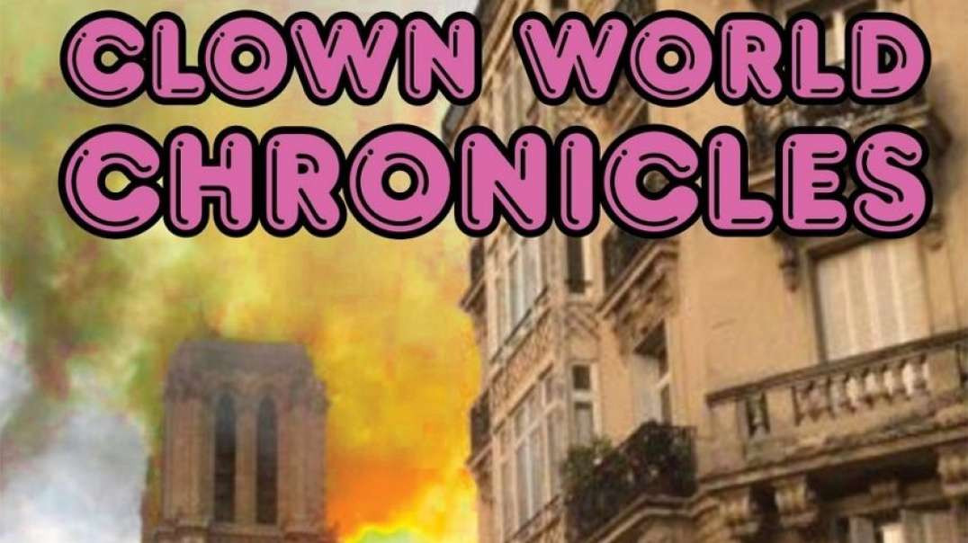 """Interview With Vince Mcleod Author Of The Book """"Clown World Chronicles"""""""