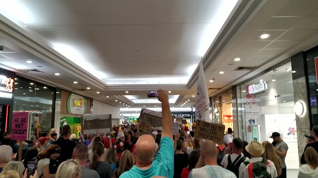 Save Our Children Arndale shopping centre Manchester 18 Sep 2021