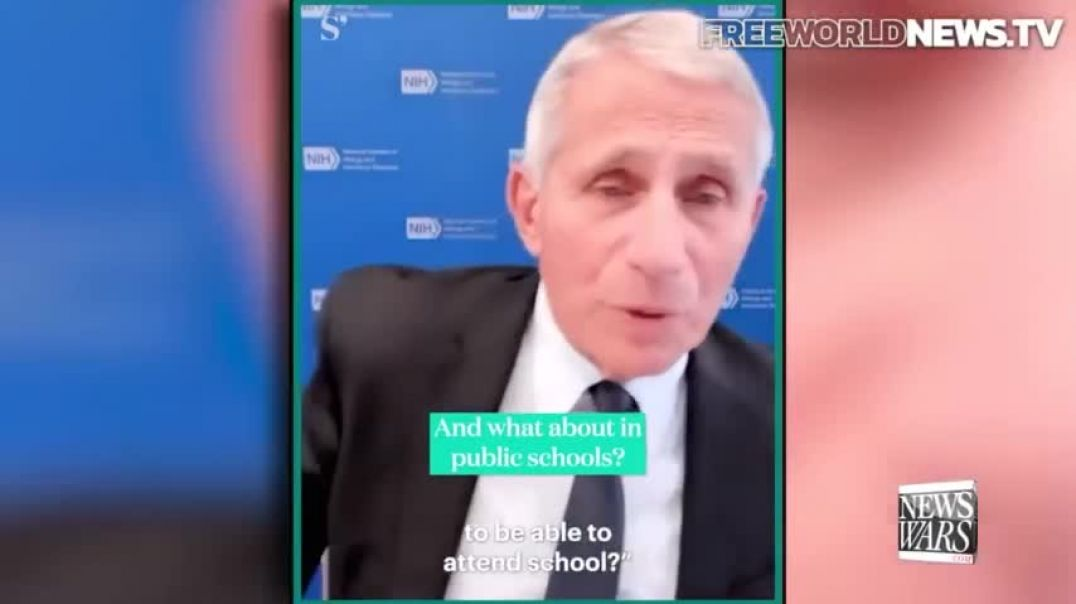 Architect of the COVID-19 Bioattack Calls for Travel Ban for Unvaxxed Americans