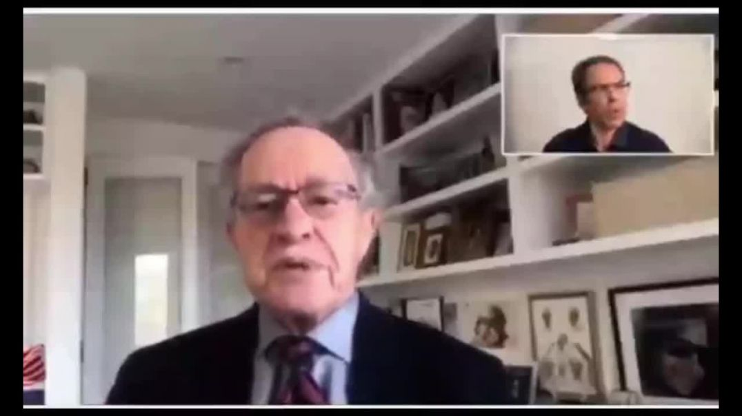 NO RIGHTS: Alan Dershowitz saying you have no rights and will be force vaccinated