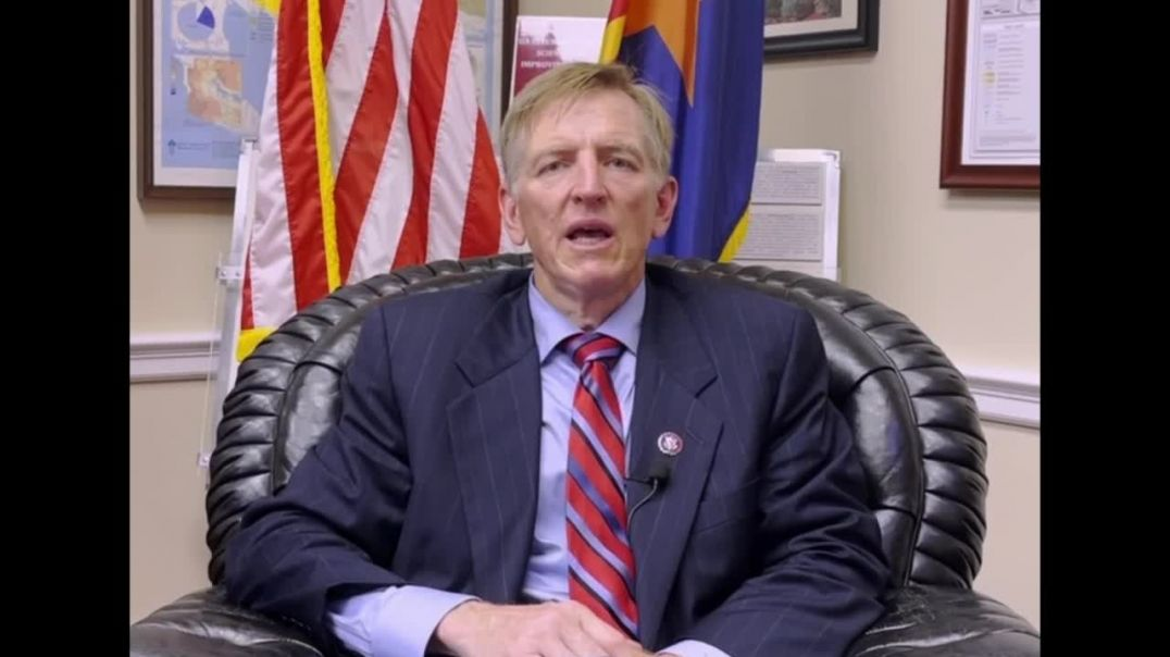"""Rep.Paul Gosar AZ: Health care providers withholding the evidence of """"vaccine"""" adverse rea"""