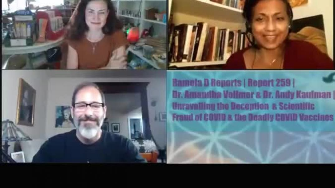 DR ANDY KAUFMAN AND DR AMANDA VOLMER EXPOSE COVID VACCINE FRAUD AND SCIENCE DECEPTION