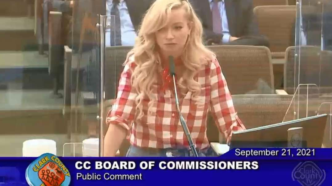 Las Vegas Nevada Clark County Commissioners Meeting Proposed Misinformation A Public Health Crisis