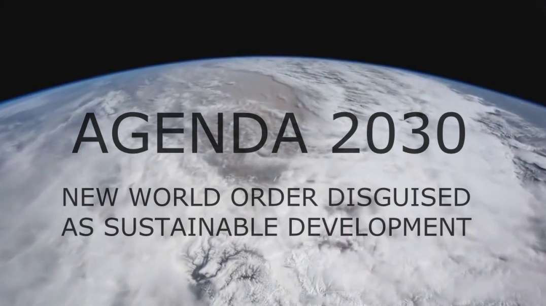 This Is Agenda 2030! This Is The NWO! Wake Up Call 09-29-2021
