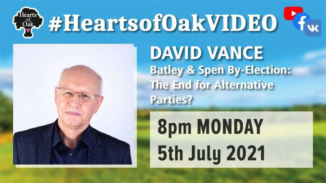 David Vance - Batley & Spen By-Election: The End For Alternative Parties?