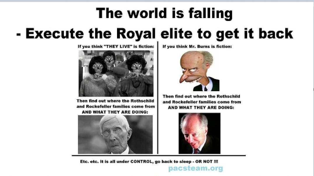 The world is falling - Execute the Royal elite to get it back