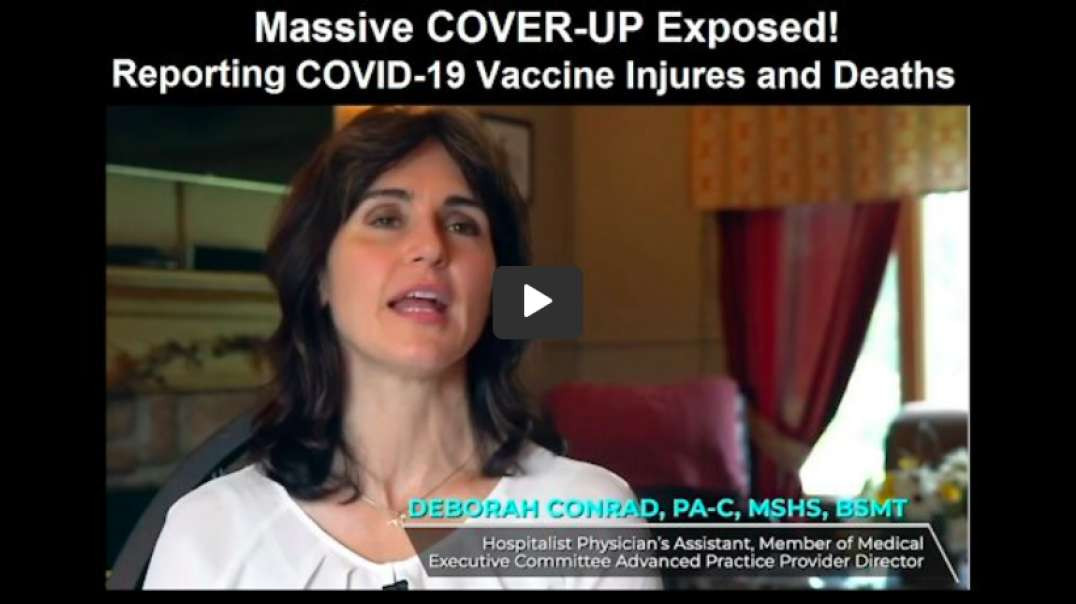 COVID Vaccine Injuries & Deaths COVER-UP! Nurse Whistleblowe