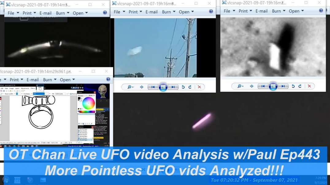 More pointless Fake or Mistaken UFO vids to analyze - UAP and Space Topics - OT Chan Live-443 - 1920