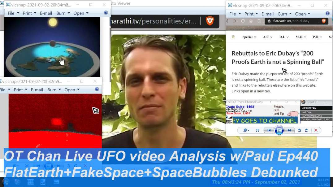Conspiracies Debunked Again - Fake Space Fake ISS Space Bubbles - Space Topics - OT Chan Live-440 -