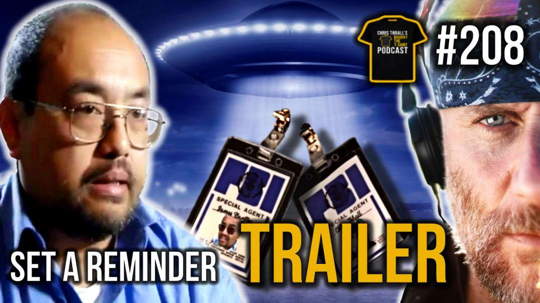 TRAILER | The Truth Is Out There | Alien Abduction Researcher | James Bartley | Bought The T-Shirt