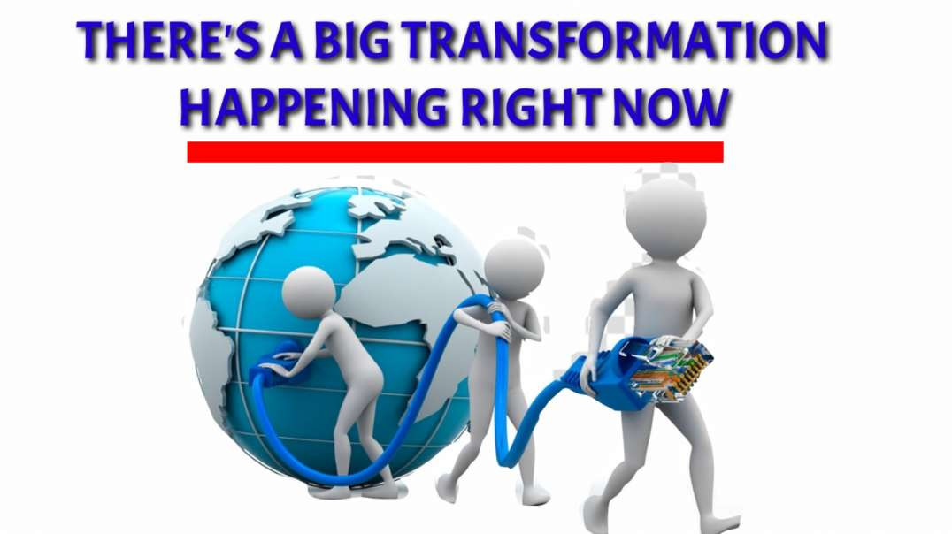 There's big TRANSFORMATION happening right NOW