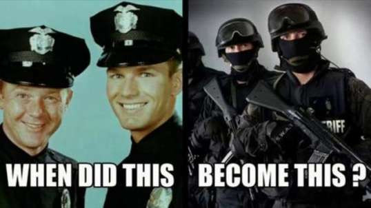 Protect & Serve Has Become Obey Or Die