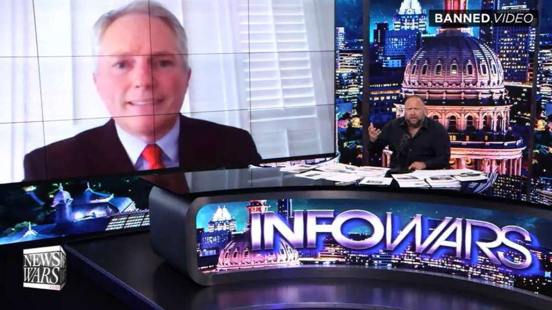 COVID Early Treatment Pioneer Joins Infowars To Share Secret To His Patients' Recoveries