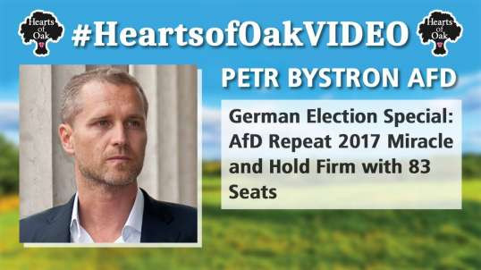 Petr Bystron: German Election Special. AfD Repeat 2017 Miracle and Hold Firm