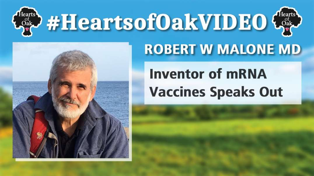 Robert W Malone MD; The Inventor of mRNA Vaccines Speaks Out