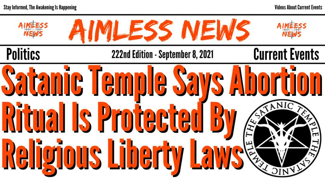 Satanic Temple Says Abortion Ritual Is Protected By Religious Liberty Laws, Liberals Support It