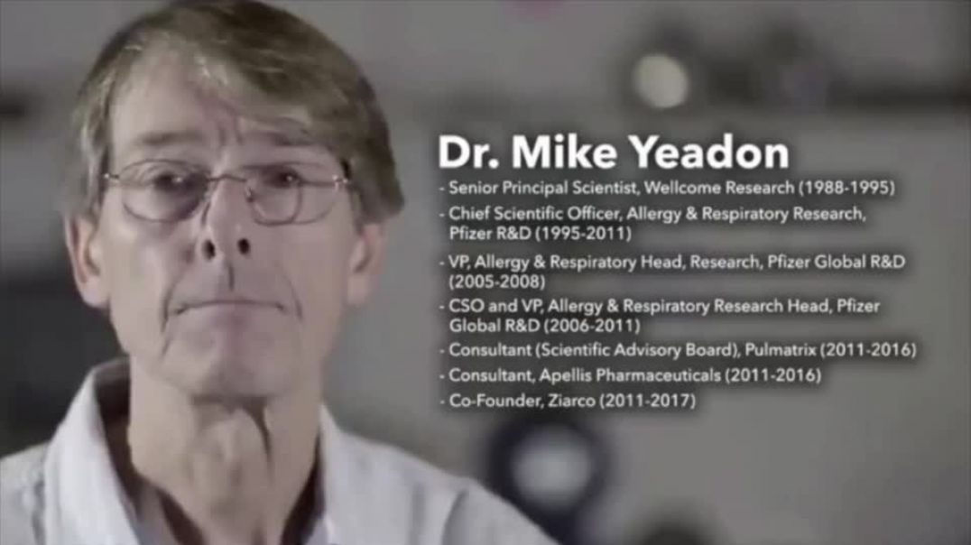 A MUST SHARE - Dr. Mike Yeadon: Covid-19 Lies