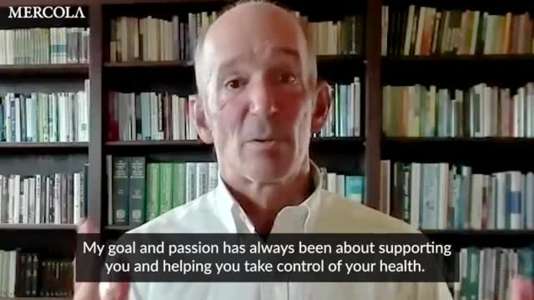 HONEST Dr. Mercola shut down by the EVIL, CORRUPT Pharma industry