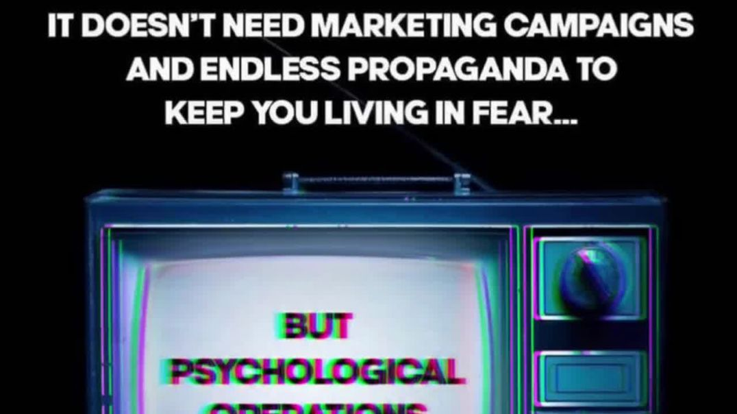 24/7 TV Brainwashing Reminders That Covid Exists