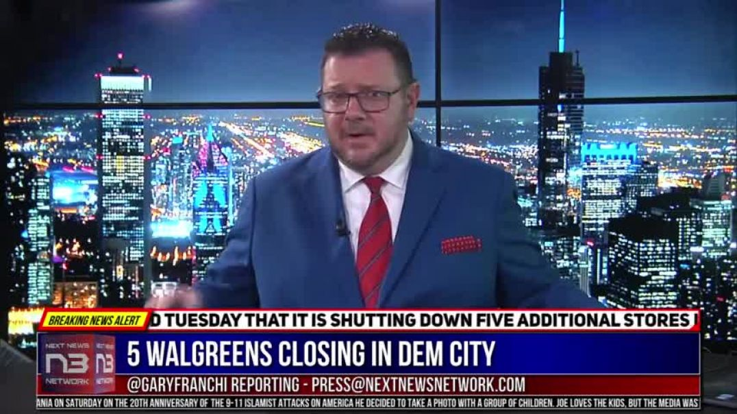 Liberal Disaster - 5 Walgreens Closing In Dem City Because Of What Keeps Happening