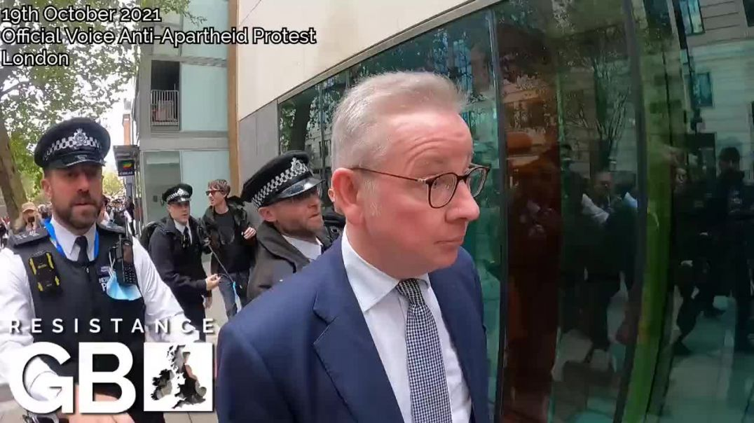 Michael Gove MP Grilled On His Criminal Complicity