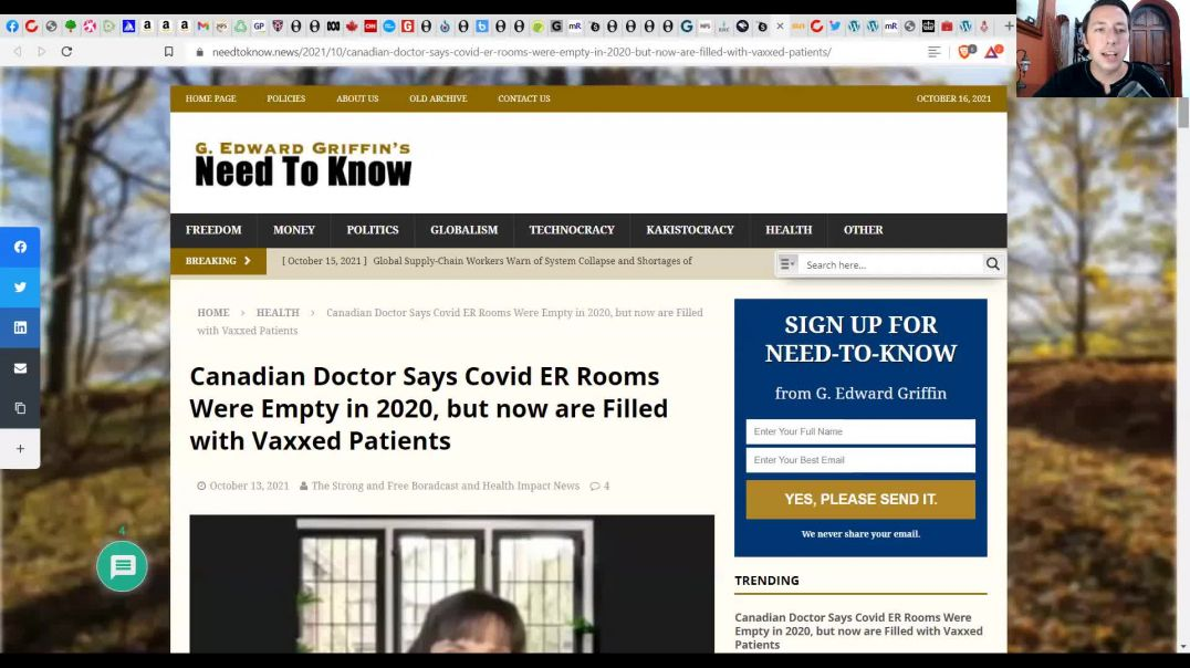 HOSPITALS FULL With Vax Injuries! - Whistleblower SPEAKS OUT! - Doctors Are BEING SILENCED!