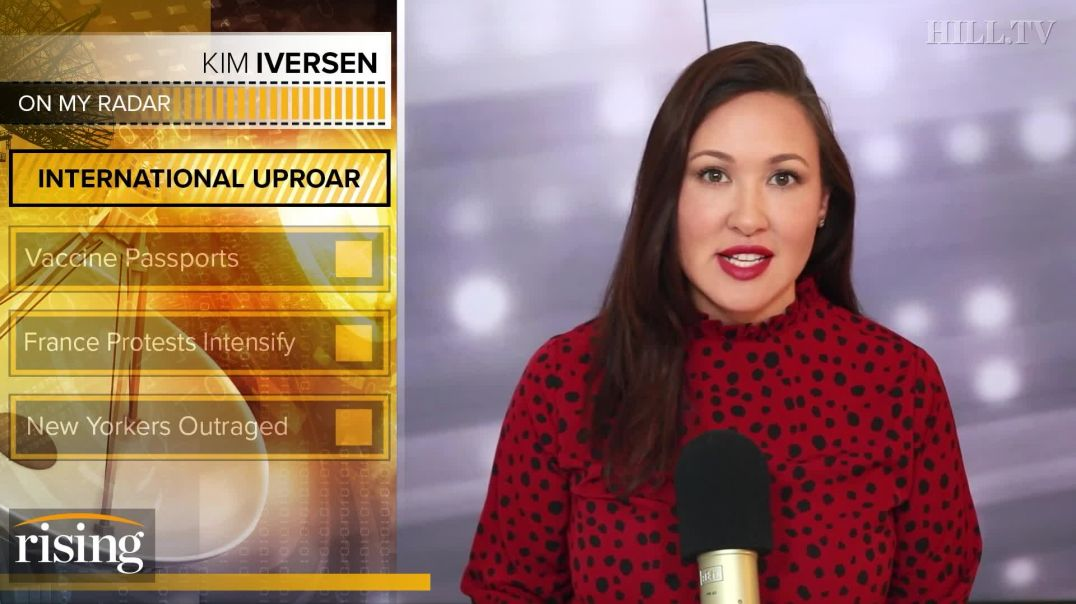 Kim Iversen: VIOLENT Protests Show The World Is OVER Covid Mandates(1080p)
