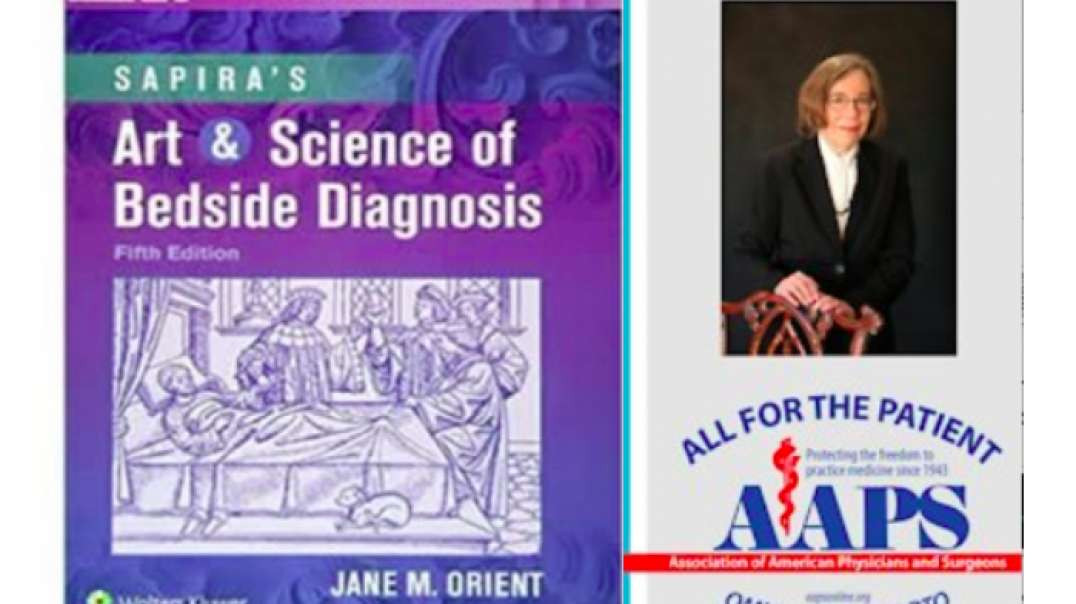 Dr. Jane M. Orient MD speaks at the 78th Annual Meeting of AAPS, October 1, 2021