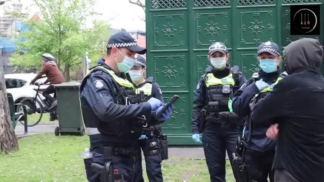 Australia is now 100% a police state
