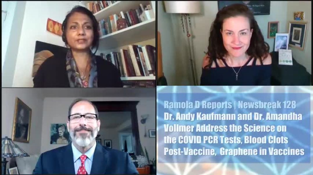 Dr. Andy and Dr. Amanda Vollmer on Ramola D Reports