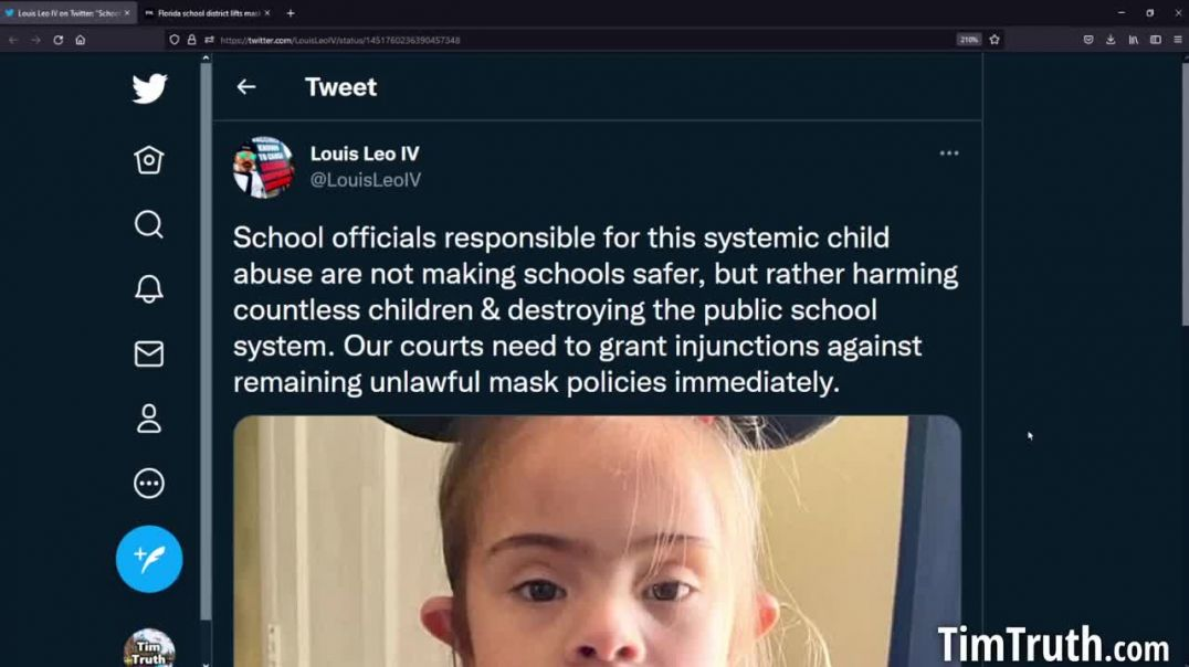 Parents Of Young Down Syndrome Girl Find Out That Her School Has Been Forcibly Masking Her.